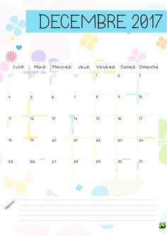 Bonjour bonjour! Aujourd'hui, je vous propose la version 2017 de mon calendrier! Celle de 2016 a été très plébiscitée et vous m'aviez demandé (enfin certains! :P ) la suite. J'esp…