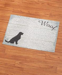 Store description: Keep your home clean with a Large Wood-Look Multipurpose Pet Mat. Designed to catch scattered litter and keep the surrounding area clean, it's also ideal used as a mat under feeding bowls. Bed Mats, Lakeside Collection, Plank, Pet Supplies, Pets, Wood, Pattern, Bowls, Design