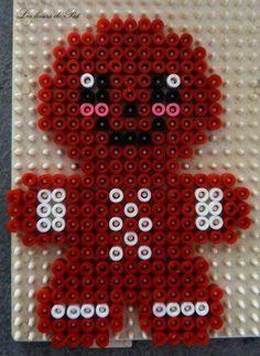 Afbeeldingsresultaat voor perler bead patterns christmas gingerbread