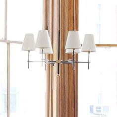"Living room Arc Mid-Century Chandelier - 6-Light #westelm 28.5""diam. x 17.5""h. Antique Bronze finish, Antique Brass-finished hardware.  Did you see that there is bronze detail, esp at ceiling? Will that jive with all the gray tones? Just checking."