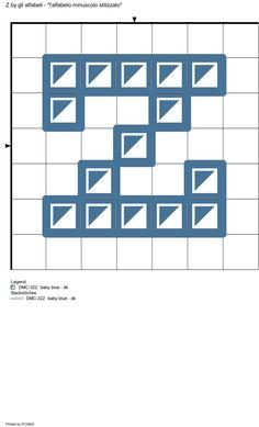 alfabeto minuscolo stilizzato: Z