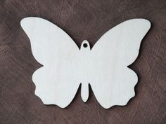 5 x Wooden Birch Ply Butterfly Shape Blank by WoodcraftBoutique
