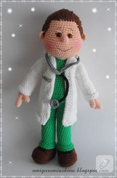 Amigurumi oyuncak modelleri arıyorsanız bu doktor beyi görmeden geçmeyin...