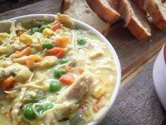 This Chicken Pot Pie soup is just every bit of creamy and comforting as the old classic, Chicken Pot Pie Casserole. I truly love a good flavorful and creamy soup. It whats makes Fall days so much more warm and cozy. It's my favorite to prepare a big pot of …