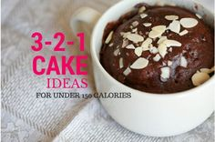 Friday Five:  Weight Watchers 3-2-1 Cakes | Slender Kitchen starting at 80 calories and 2-3 PointsPlus