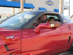 I pity the fool who thinks racing Mr. T in a Corvette ZR1 is a good idea!