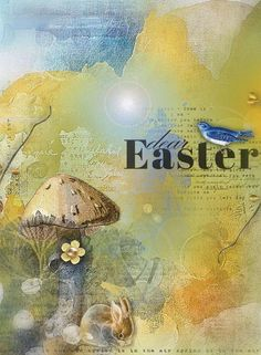 When I was creating this kit and collection I came across this poem for eggs and I thought it was just perfect for what I was trying to convey in my feelings about Easter and this kit direction:  They signify the start of something new. A rebirth and a second chance for me and you.  Where the past is past and sins forgotten and bright future is in view. A time for change, a time for new…