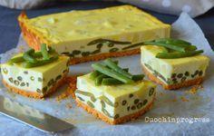 Cheesecake salato ai fagiolini. Ricetta piatto unico
