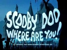 Scooby Doo! Where Are You ♥♥ THIS. I love this show way too much. Aghhh. I remember my elementary school days rushing home to meet up with my brother so we could sit and watch Scooby Doo marathons on Cartoon Network. Ha! Love it. ♥
