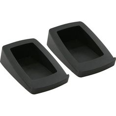 A simple solution for desktop speakers, the speaker wedge is a great way to get your Audioengine 2 speakers or other small speakers up off your desk and at an angle right where you need them. Desktop Speakers, Small Speakers, Bluetooth Speakers, Dream Desk, Audio Store, Small Computer, Dieter Rams, Speaker Stands, Desk Setup