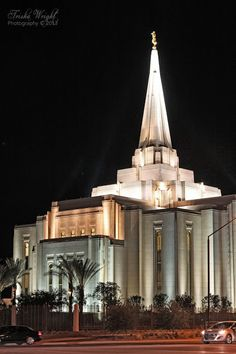 Gilbert Temple night time shot - high resolution from website  Gorgeous!  Mormon LDS