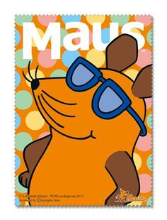 Amazon | MAUS(TM) マウス(TM)サングラスクリーナークロス | アニメ・萌えグッズ 通販