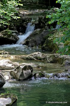 Río Duje Tielve Picos de Europa