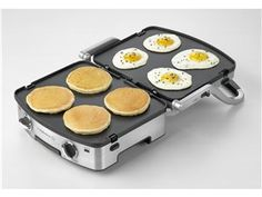 5 in 1 Removable Plate Grill by Calphalon by Calphalon at Cooking.com