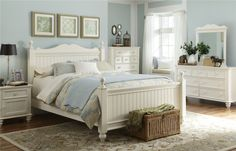 Bedroom  From  White furniture from Aria Home Furnishings in Orange county