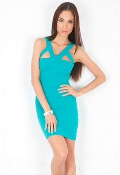 Donna Mizani Harness Dress