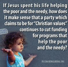 Helping the poor and needy