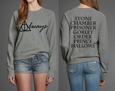 Always Harry Potter Book Movie Titles Inspired Sweatshirt T-shirt @rtmama74 I…
