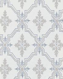 Tapet Stjärntrellis grå/silver från Boråstapeter Textile Prints, Textiles, Sweet Home, New Homes, Display, Quilts, Blanket, Tyger, Rugs