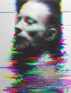 Thom Yorke glitch edit by Robert del Naja via entropia