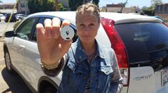 Tiny Device Allows You To Track Your Car Using Your Smartphone (Child, Animal, Purse, Briefcase, etc)   #Products I Love - #Gifts - #CAP