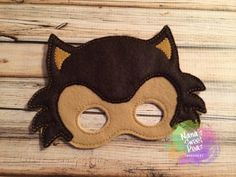Big Bad Wolf MaskDress UpParty Favors by NanasSweetPeas on Etsy