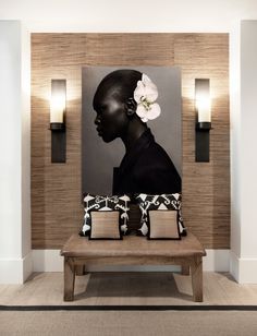 INTERIOR Dining room decor and stylish lighting pieces. Discover trendiest chandeliers, wall and flo African Interior Design, African Design, Modern Interior Design, African Home Decor, Entry Way Design, Style Deco, Deco Design, Design Design, Design Trends