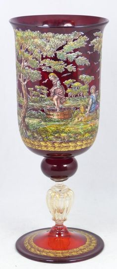 251 Best Red Crystalglass Images On Pinterest Antique Glass