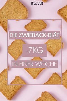 Mit der Zwieback-Diät abnehmen: 7 Kilo in 7 Tagen Rusk packs consist of about 900 calories and 74 grams of carbohydrates. Still, you should lose with a 7 pound rusk diet in a week. Sounds strange when low carbs.