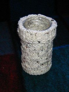 Strings and Sealing Wax: Jar Cover to Knit