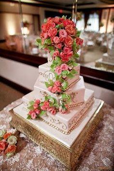 Torta de matrimonio - wedding cake - tarta de boda