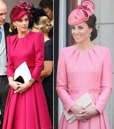 kate middleton pink pleated swing dress celeb inspired custom made - Pink Dresses - Ideas of Pink Dresses Style Kate Middleton, Kate Middleton Dress, Robe Swing, Swing Dress, Duchess Kate, Duchess Of Cambridge, Style Royal, Kate Dress, Royal Fashion