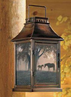 Dawn's First Light Candle Lantern
