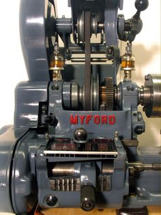 Myford 7 lathe detail