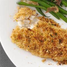 Parsley-Crusted Cod 1 fillet; 6 carbs ~ Taste of Home