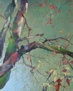 Painter's Process - Randall David Tipton  Tualatin Overflow oil on canvas 30x24