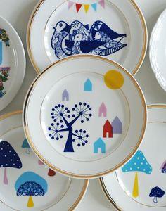 plates together