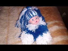 """Boneca de lã """" dorminhoca"""" - YouTube"""