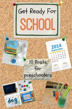 If you have a preschooler there is only 6 months to get them ready for school! Scary! These posts will help them develop skills in a fun way