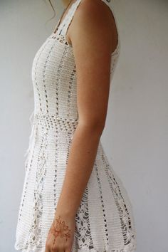Your place to buy and sell all things handmade Hand Crochet, Crochet Lace, Crochet Tank Tops, Plus Size Maxi, Boho Look, Tank Shirt, Pretty Dresses, Hippie Boho, Vintage Dresses