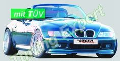 Rieger Tuning Spoilerlippe  Frontlippe BMW Z3