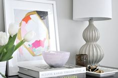 Nightstand Styling Tips - Step by Step