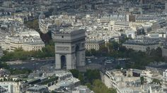 Shot taken from the Eiffel Tower.
