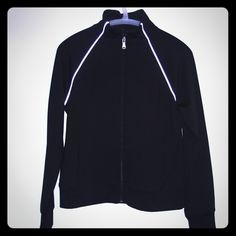 Black Gap Jacket Gap Body zip up jacket. Worn twice. Gap body Jackets & Coats