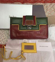 Auth Rare Balenciaga Clutch Bag #Balenciaga #Clutch