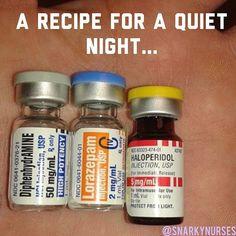 Nurse humor. Very quiet!