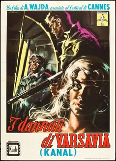 "Movie Posters:War, Kanal (CEI, 1958). Italian 2 - Foglio (39.5"" X 55""). War.. ... Image #1"