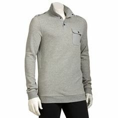 Marc Anthony Slim-Fit Solid 1/2-Placket Pullover
