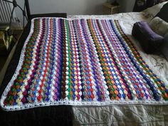 Beachcomber blanket finished