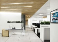 M Moser, London #office #buero